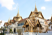 Excursion en bord de mer à Bangkok : visite privée du Grand Palais et sortie shopping