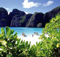 Thailand's Phi Phi Island is a popular day trip from Krabi*