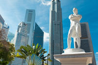 Tour van Singapore City