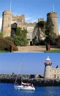 Dublin Bay and Malahide Castle Half-Day Tour