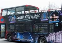 Dublin by Night Open-Top Bus Tour