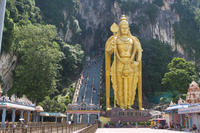 Private Tour: Batu Caves and Temple Afternoon Tour from Kuala Lumpur
