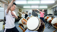 Japanese Taiko Drum Lesson with a Master in Tokyo