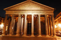 Illuminated Rome Night Tour with Aperitivo