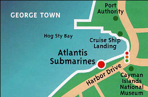 carte-expedition-atlantis-submarine-grand-cayman