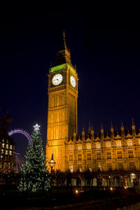 Christmas Eve Lights Tour in London Led by Santa