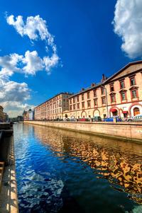 Neva River Sightseeing Cruise in St Petersburg