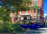 Savannah Haunted Trolley Tour and 2-day Hop-on Hop-off Pass