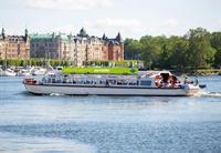 Ver la ciudad,Hop-On Hop-Off,Crucero por Estocolmo,Crucero con paradas libres