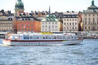 Stockholm City Hop-on Hop-off Boat Tour*