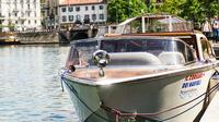 Milan Navigli Sightseeing Cruise on a Motorboat with Local Guide
