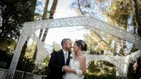 Wedding Ceremony: Private Garden Gazebo