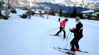 Courmayeur Ski Lesson with all day Ski Rental