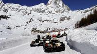 Ice Kart experience in Andalo