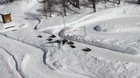 Ice Kart experience in Cervinia