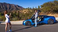 Hollywood Sign Tour BMW i8