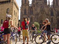 Radtour durch Barcelona
