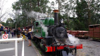 Puffing Billy Train With Optional Penguin Parade or Melbourne City Tour