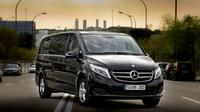 Departure Private Transfer Luxury Van San Sebastian City to Bilbao airport BIO