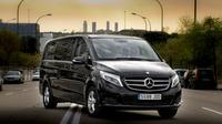 Traslado privado de salida: Ciudad de Segovia al aeropuerto de Madrid MAD en Luxury Van
