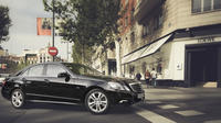 Departure Private Transfer Stockholm City to  Bromma Airport BMA in Business Car Private Car Transfers