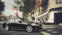 Milan City Departure Private Transfer to Milan Linate LIN in Business Car