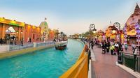 Dubai Global Village and Miracle Garden Tour from Abu Dhabi
