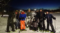 Evening Snowshoe Trip with a Bonfire in Tromso