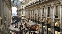 Fashion Tour & Stunning visit to Galleria Vittorio Emanuele II Upper Fl