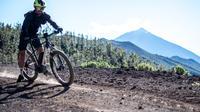 3-hour route on rental bike at La Caldera de la Orotava and Los Realejos