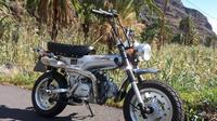 Rent SkyTeam 125cc Motorbike for 1 week in La Gomera