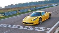 Unchain the Ferrari energy on racetrack