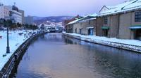 Visit Otaru Canal & Glass Craft Shop and Sledding Experience Half Day Tour!