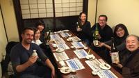 Sake Tasting in Takayama