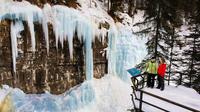 Johnston Canyon Icewalk from Banff