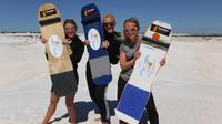 Sandboarding fun in Lancelin