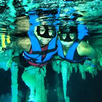 Go snorkeling in a cenote