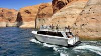 Tour Boat in Canyon