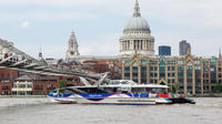 Emirates Airline Cable Car and Thames River Cruise