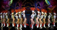 Moulin Rouge Late Night Show met champagne