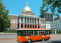Landausflug in Boston: Boston Hop-on-Hop-off-Trolley-Tour