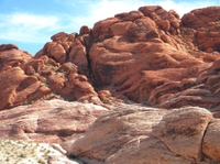 Begeleide bergfietstocht door de Mustang Trail in de Red Rock Canyon