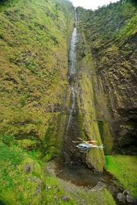 Waterfall Heli-Trek: Big Island Helicopter Tour and Hiking Adventure