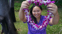Traditional Airport Lei Greeting on Honolulu Oahu Private Car Transfers