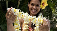 Traditional Airport Lei Greeting on Kahului Maui Private Car Transfers