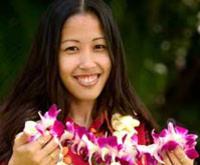 Traditional Lei Greeting on Kauai