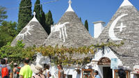 Shore Excursion from Bari Port to Matera Sassi and Alberobello Trulli Private Car Transfers