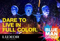 Blue Man Group at the Luxor Hotel and Casino