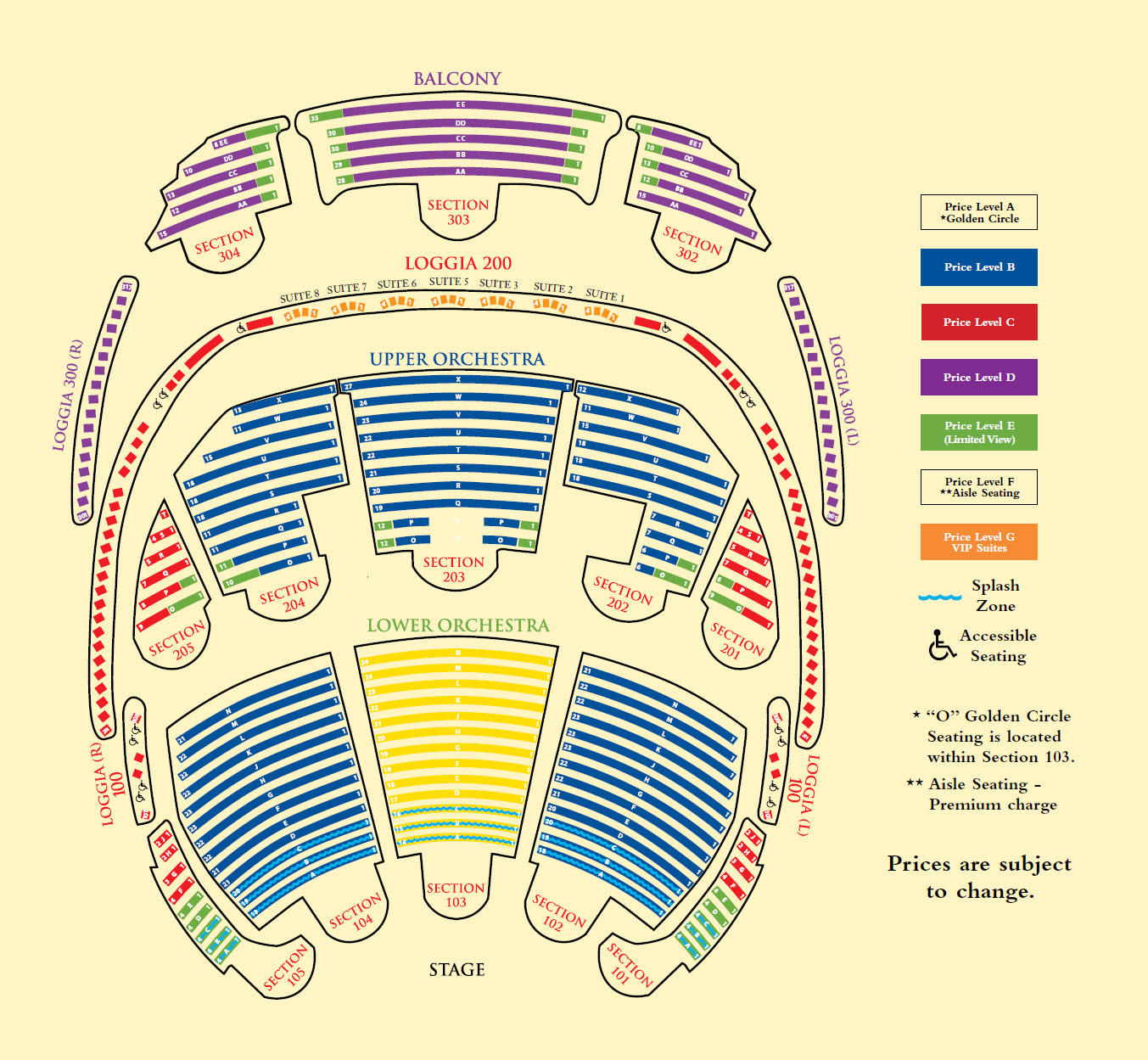 Bellagio cirque du soleil o seating chart brokeasshome com