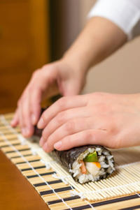 Private Sushi and Tempura Cooking Class at a Local Kyoto Home